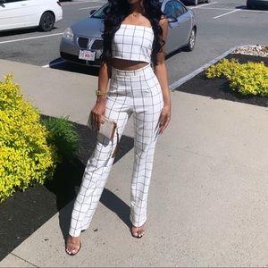 Fashionnova Two Piece Pants Suit